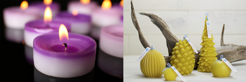 diferencias velas de parafina velas de cera de abeja